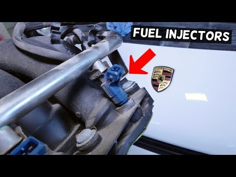 HOW TO REMOVE AND REPLACE FUEL INJECTOR ON PORSCHE CAYENNE