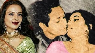 Rekha  was kissed forcefully  by her co-star