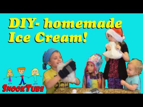 DIY - Homemade Ice Cream