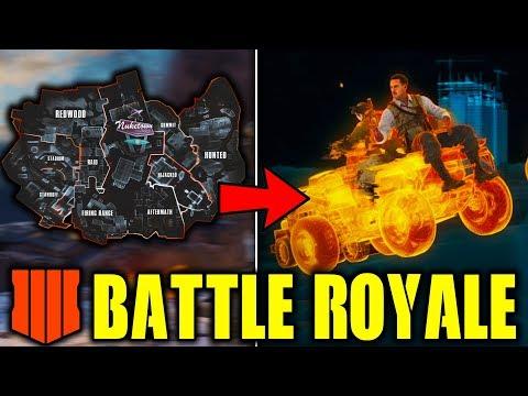 BLACK OPS 4 BATTLE ROYALE - EVERYTHING WE KNOW SO FAR! (Blackout Battle Royale)