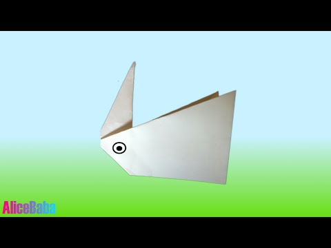How to make Origami : Bunny 1