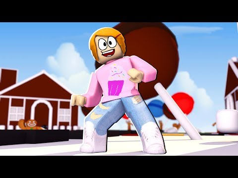 Roblox Roleplay - Molly And Daisy Go To Candyland!