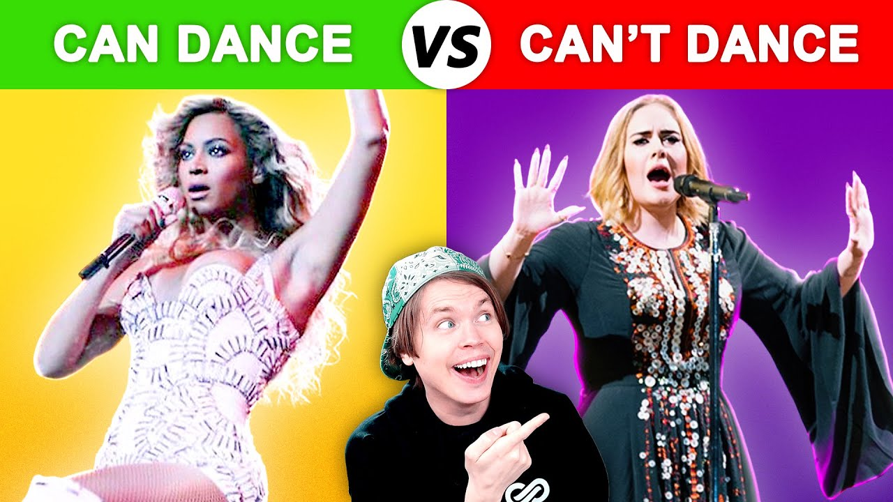 Singers Who DANCE vs Singers Who CAN'T