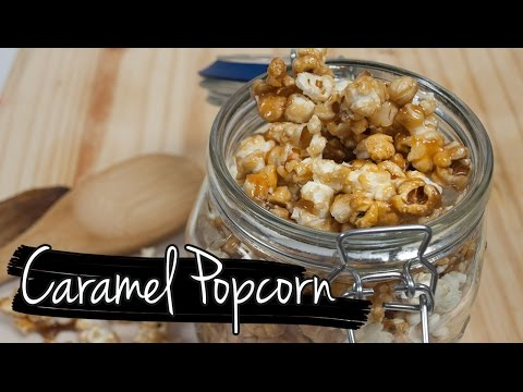 Easy Homemade Caramel Popcorn