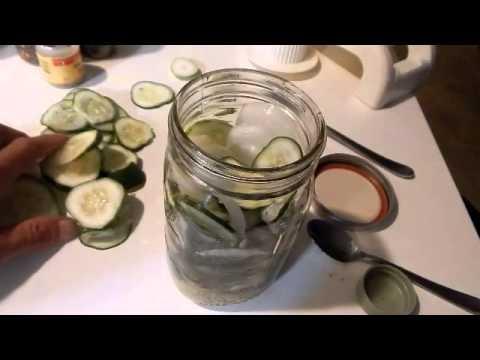 Quick pickled Cucumber recipe