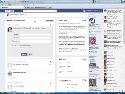 How to link your personal facebook Page to your Fan Page