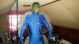 HULK COSTUME: Hulk Costume Tutorial PART 2