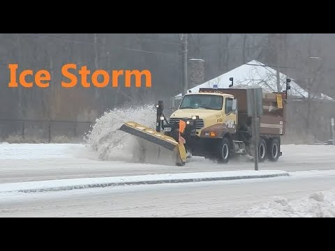 Today Ice Storm in Toronto and Southern Ontario Freezing Rain Warning