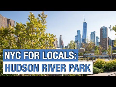 New York City: Tour of the Hudson River Park