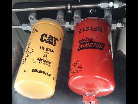 Dodge Cummins diesel fuel filter kit install