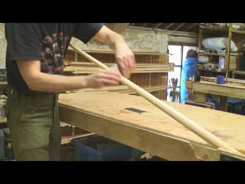 Making the Laminated English War Bow DVD