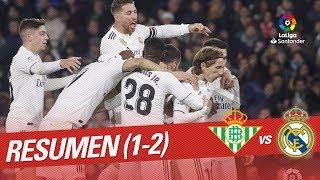 Resumen de Real Betis vs Real Madrid (1-2)