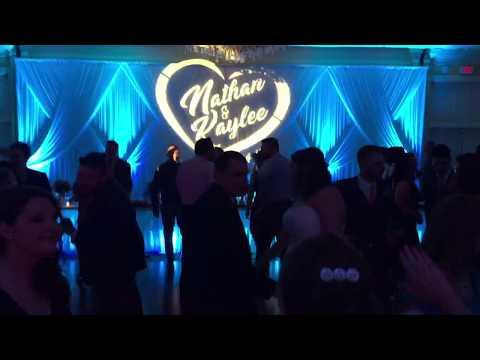 Mckinley Grand Canton Ohio with Black Tie Entertainment wedding reception entertainment