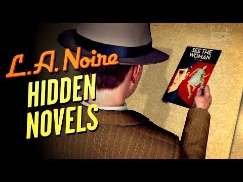 LA Noire Remaster - Novels Locations [Well Read Individual Trophy / Achievement]
