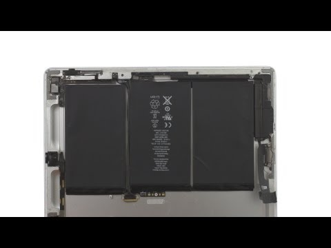 Battery Repair -  iPad 2 Wifi How to Tutorial
