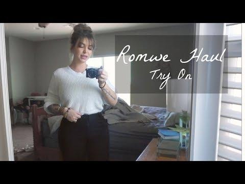 ROMWE Honest AF REVIEW  ♡ TRY ON Haul / STILLGLAMORUS