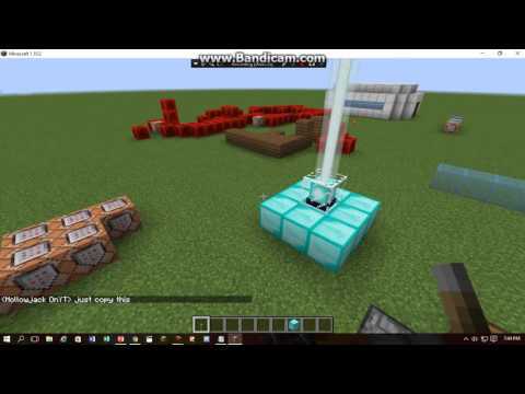 How To make a Simple LightSaber in Minecraft