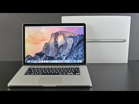 Apple MacBook Pro 15-inch Retina (2015): Unboxing & Review