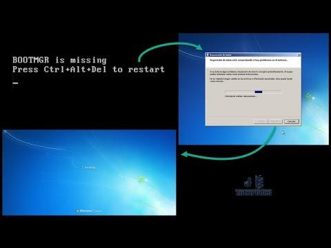 """Solucionar el Error """"BOOTMGR is missing"""" en Windows 7 - Paso a Paso"""