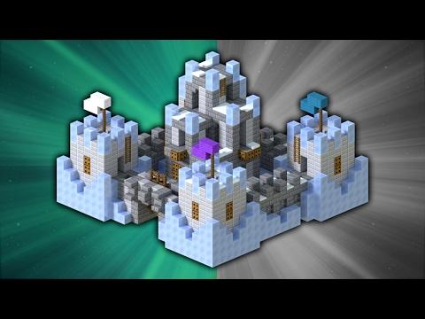 How to Build a Frozen Castle | Minecraft