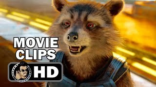 GUARDIANS OF THE GALAXY VOL.  2 - 7 Movie Clips + Trailer (2017) Chris Pratt Marvel Movie HD