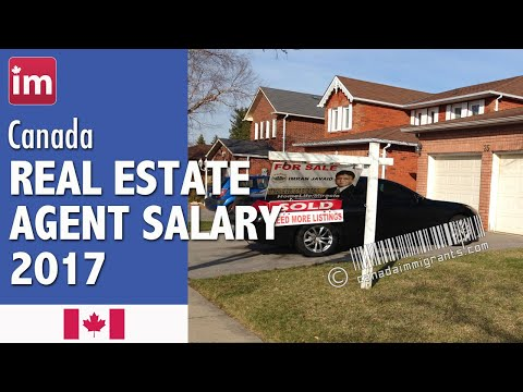 Real Estate Agent Salary in Canada | Jobs in Canada (2017)
