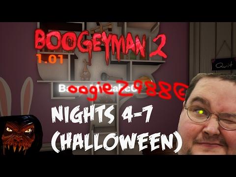 Boogeyman 2 HALLOWEEN NIGHT COMPLETE | Walkthrough Part 2 | NIGHTS 4-7 | Horror Game Gameplay