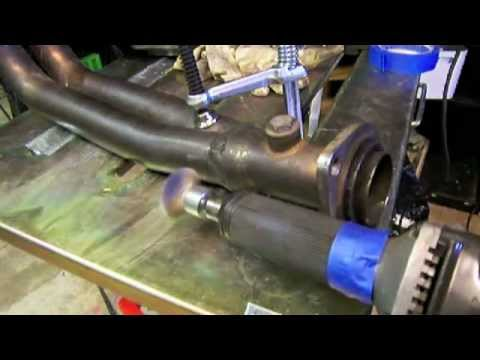 Stainless Steel Exhaust Weld Repair
