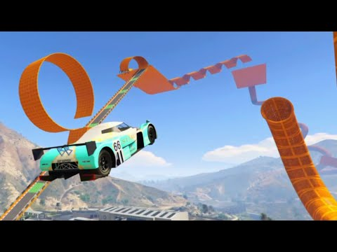 GTA 5 Epic Hot Wheels Stunt Race Track Cunning Stunts DLC