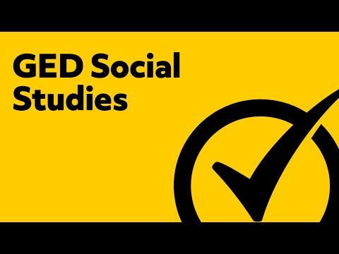 Best Free GED Social Studies 2018 Study Guide