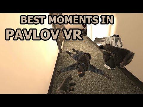 Best Moments in Pavlov VR