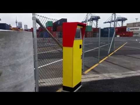 New grid kiosk at Ports of Auckland