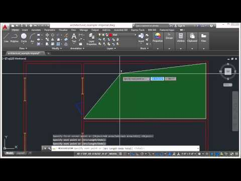 Learning Autodesk AutoCAD 2015 Measuring Tools