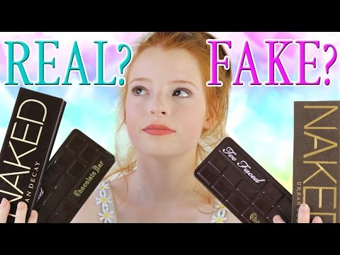 Fake Eyeshadow Palettes vs Real, Counterfeit Urban Decay Naked & Too Faced Eye Shadow eBay