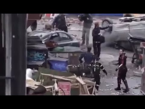 AVENGERS 4 LEAKED VIDEO FOOTAGE OF FILMING RE-SURFACES