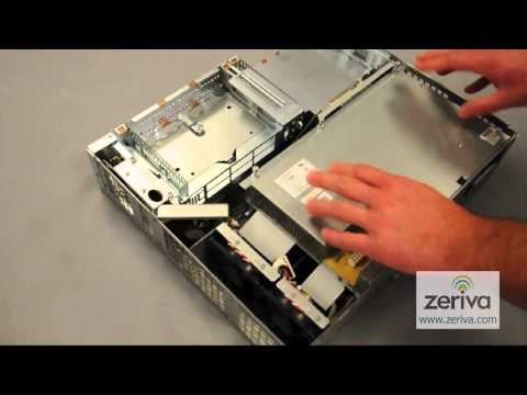 How to change a power supply in a Cisco 3825 router