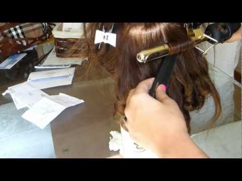 HOW TO: PROFESSIONALLY CURL HAIR with a MARCEL IRON