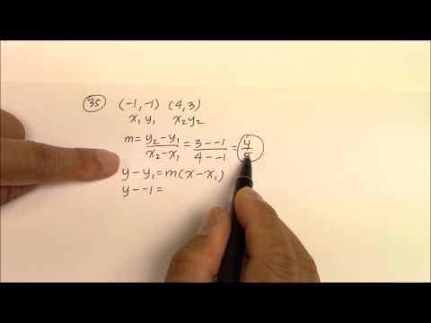 IH 010 Writing Slope-Intercept Form Part 2