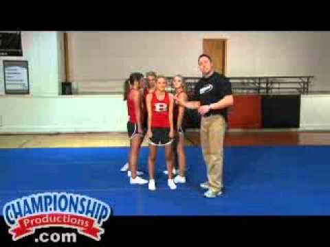 Intermediate and Advanced Stunts, Dismounts, and Transitions for Cheerleading