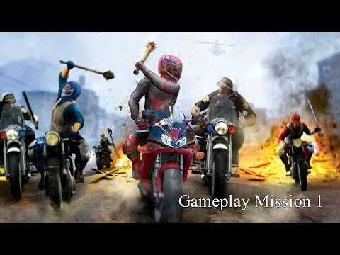 Road Redemption (Road rash) Gameplay Mission 1