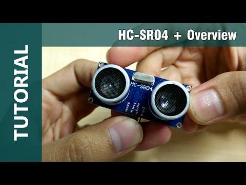 Ultrasonic Sensor Arduino using HC-SR04 Range Distance Module Overview