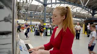 Freya Ridings  Lost Without You Live At Dublins Heuston Station