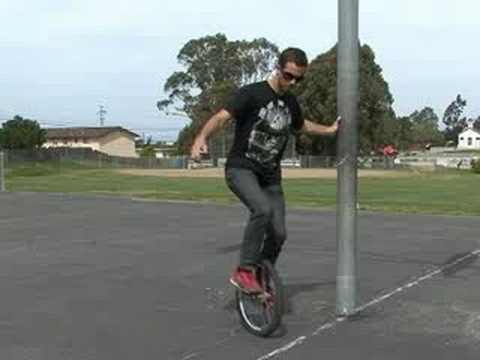 How to Ride a Unicycle : Unicycle Spin Trick