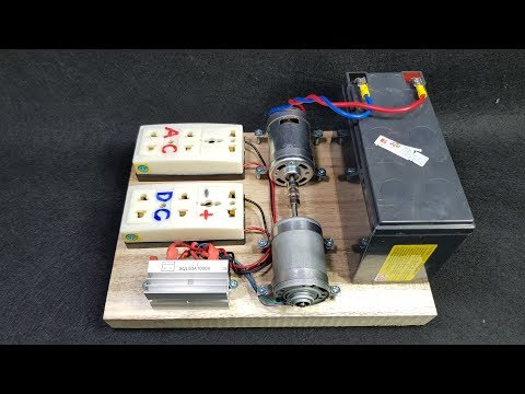 How to make 220v 50W Dynamo Generator Using 775 Motor