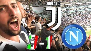 JUVENTUS 3-1 NAPOLI | LIVE REACTION dall'ALLIANZ STADIUM ai GOL di MANDZUKIC HD!! [GODURIA TOTALE]