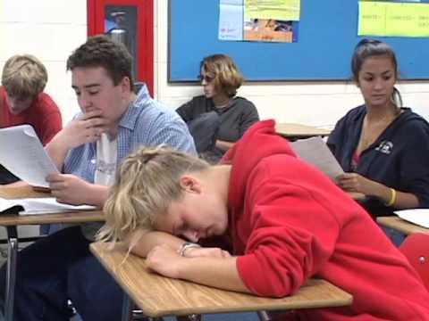 Don't Fall Asleep in School PSA