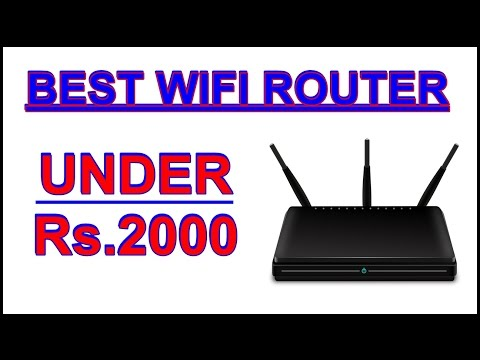 Best wifi router under 2000 in india