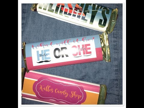 Tutorial: How to do Hershey Wrapper | Make it with Cricut