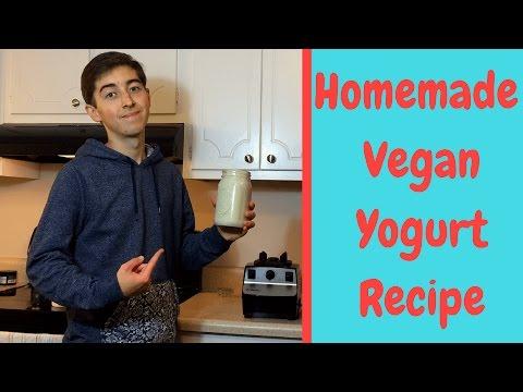 Homemade Vegan Yogurt ~ Pumpkin Seed