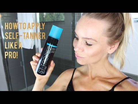 How To Apply Self Tanner Like A Pro!